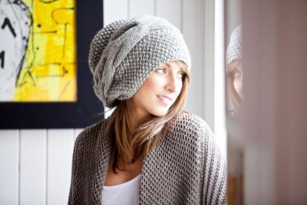 Объемная шапка пошагово