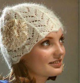 Модная шапка на весну и осень