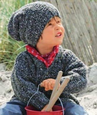 Детская шапочка бини