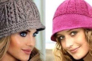 Подборка вязаных шапок