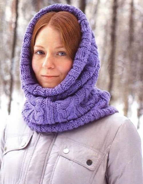 Снуд для зимней погоды