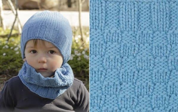 Весенняя шапочка для мальчика