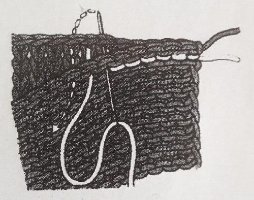 Как соединить чулочную вязку