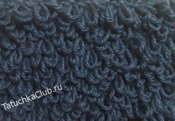 Вязание меха спицами