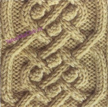 Арановый узор с шишечками