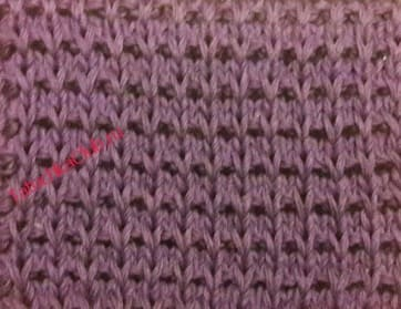 Вязание объемного тканного рисунка
