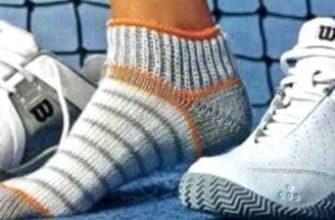 Полосатые короткие носки