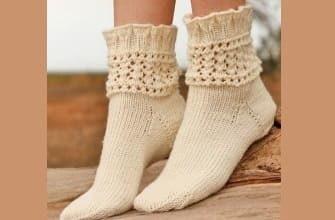 Ажурная резинка к носкам
