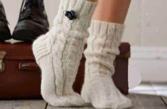 Простые косы для носков