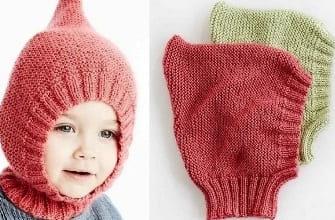Шапочка на малыша