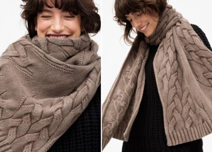 Узор для оригинального шарфа
