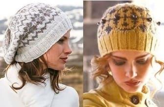 Жаккардовые шапочки