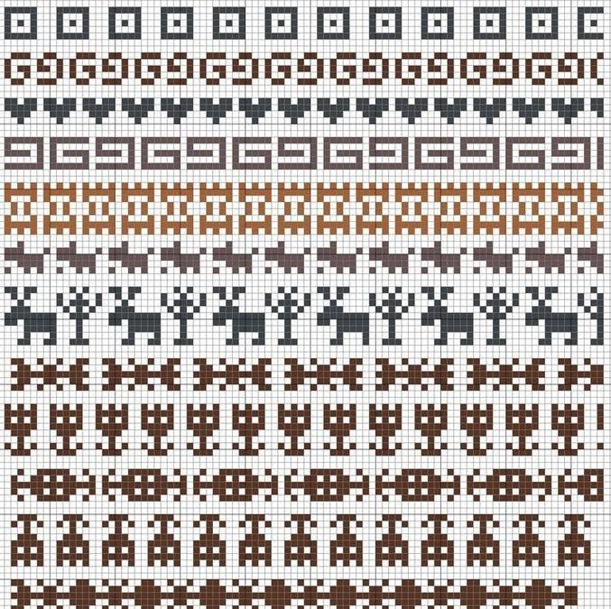 Схема оленя